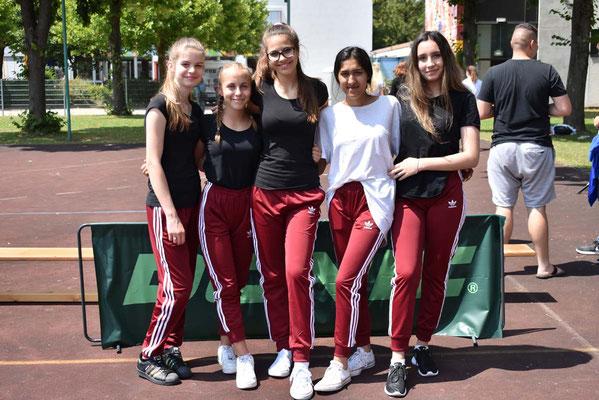 Bis ins Halbfinale vorgestoßen: das Team GIRLPOWER!
