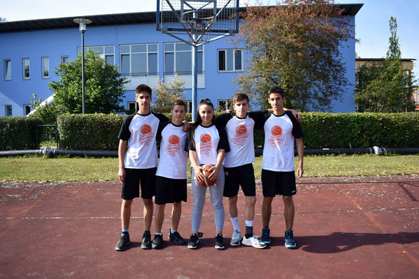 am Ende Turniersieger in der Oberstufe: Team Balkan