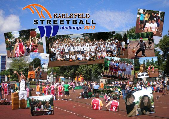 Streetball Challenge 2012: sechs Schulen, auch aus München, treten an!