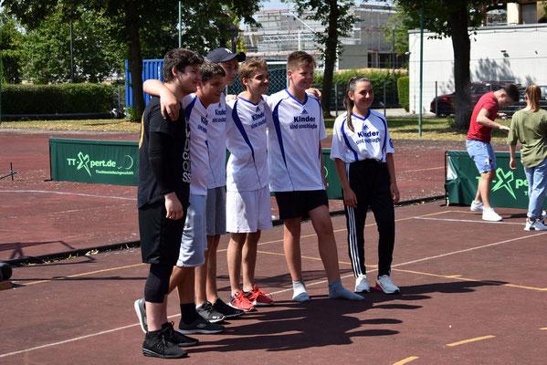 die Rookies von ODDHOUSE (Odelzhausen) stolz!