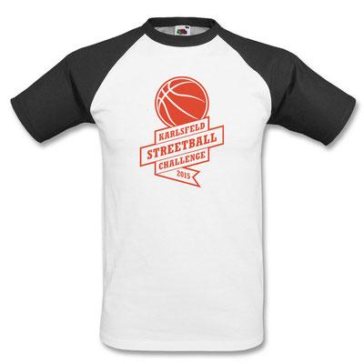 Das Shirt für die Finalisten der 11. Streetball Challenge