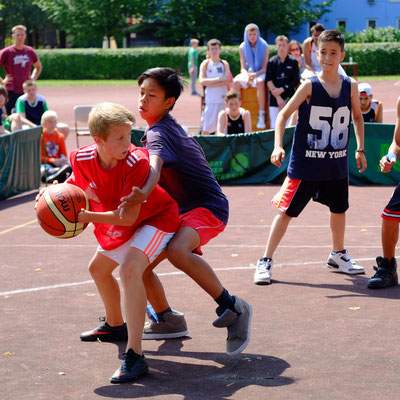 """2014: """"Große Basketballer fangen mal klein an!"""""""