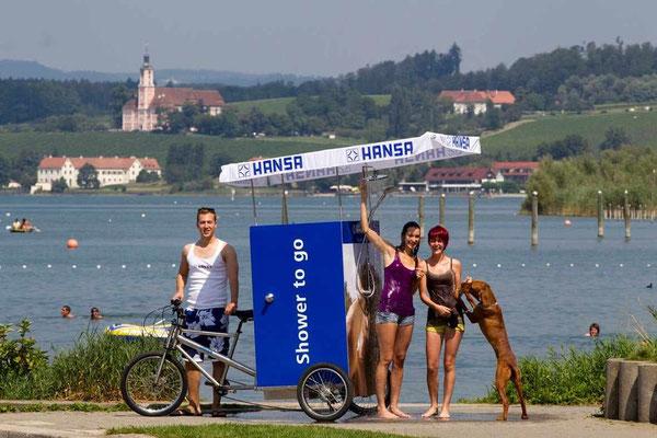 Und hier noch das Fahrrad für die heißen Tage!  ;-)