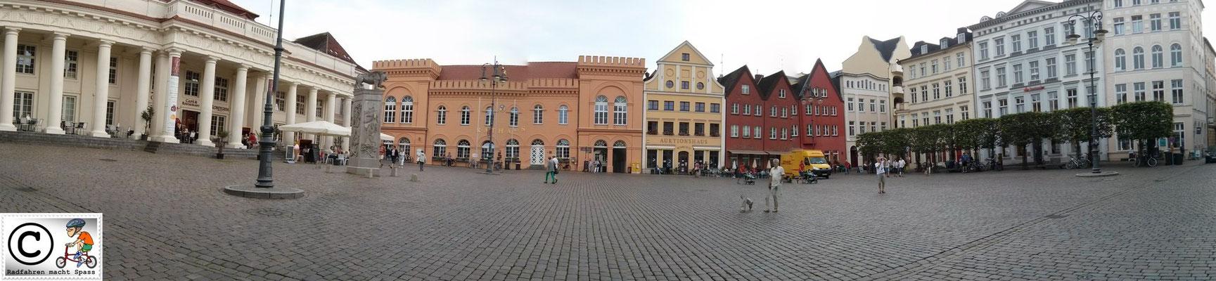 Schweriner Altstadt Marktplatz