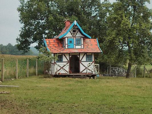 das ist wie ein Baumhaus