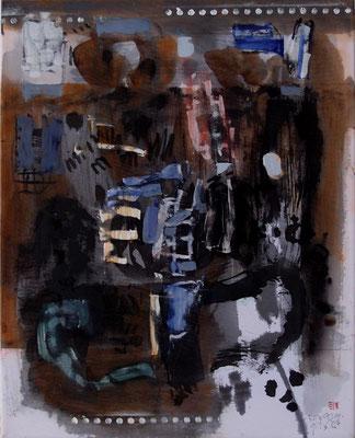 """Dark Paintings III  """"Einblick"""""""
