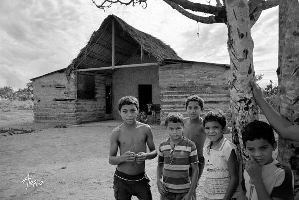 Hijos del barro. Edo Bolívar, Venezuela