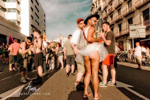 Marcha TLGB, Barcelona
