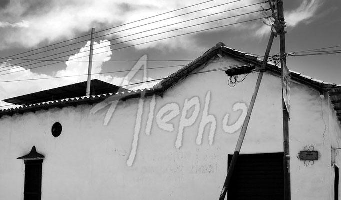 Casa esquinera. Puerto Píritu. Edo Anzoátegui, Venezuela
