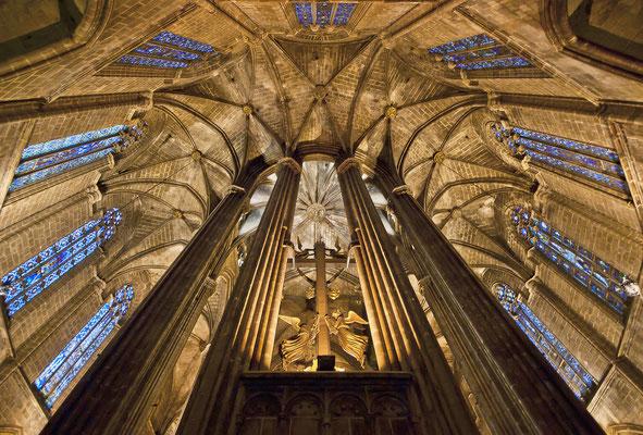Ábside de la Catedral de Barcelona