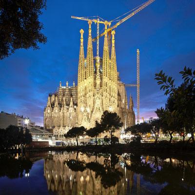 Fachada del Nacimiento de la Basílica de la Sagrada Familia