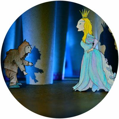 Zwerg und Prinzessin