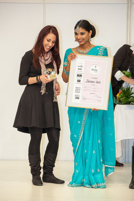 1.Rang Schweizer Make Up Meisterschaft 2013