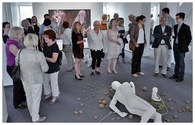 vernissage museum haus ludwig, saarlouis, foto: sascha schmidt