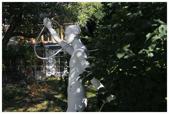 die kunstbevölkerung im atelier fassel in pottendorf bei wien, foto: peter köcher