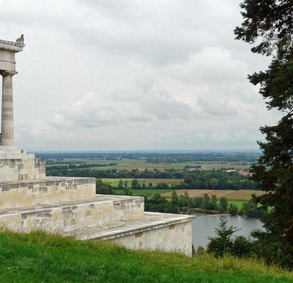 Blick von der Walhalla in Donaustauf über die Donau, Foto: www.pixabay.com