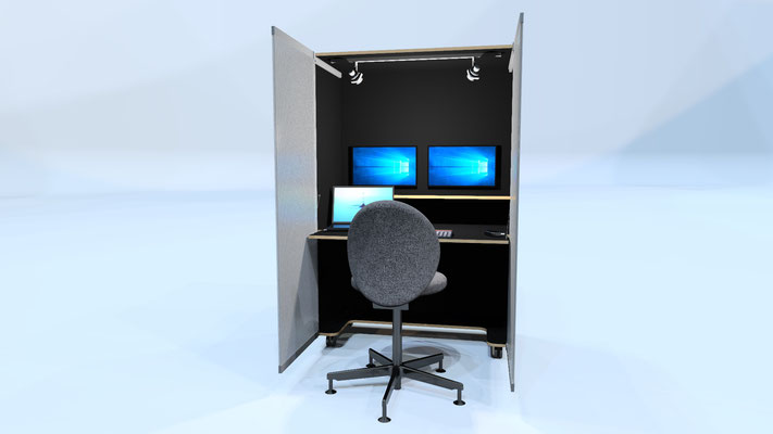 Office to Go Home at Office/Blackbox Gmbh