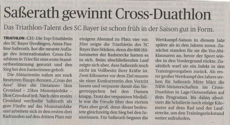 Rheinische Post 05.03.2016