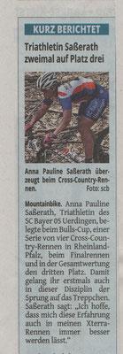 Westdeutsche Zeitung 12.04.2017