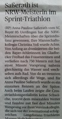 Rheinische Post 15.05.2018