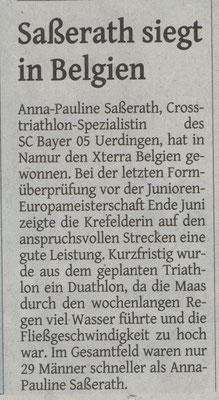Westdeutsche Zeitung 17.06.2016