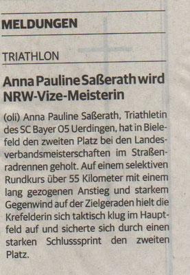 Rheinische Post 25.05.2016