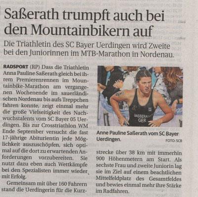 Rheinische Post 11.08.2015