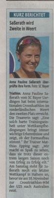 Westdeutsche Zeitung 03.11.2016