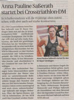 Rheinische Post 28.07.2018