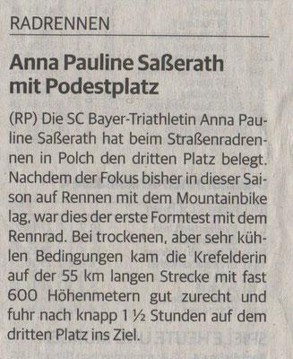 Rheinische Post 22.03.2016