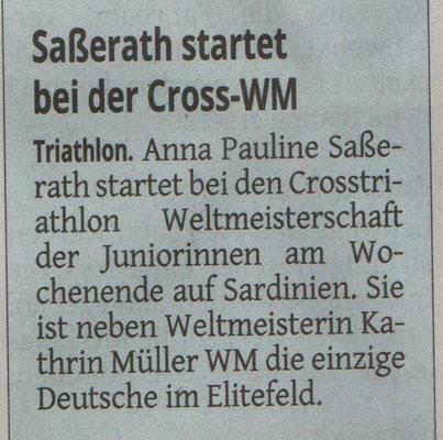 Westdeutsche Zeitung 23.09.2015