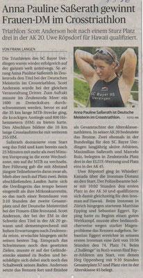 Rheinsiche Post am 29.07.2016