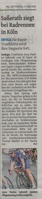 Westdeutsche Zeitung 27.05.2015