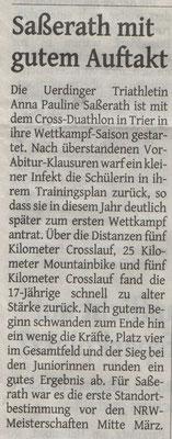 Westdeutsche Zeitung 02.03.2016