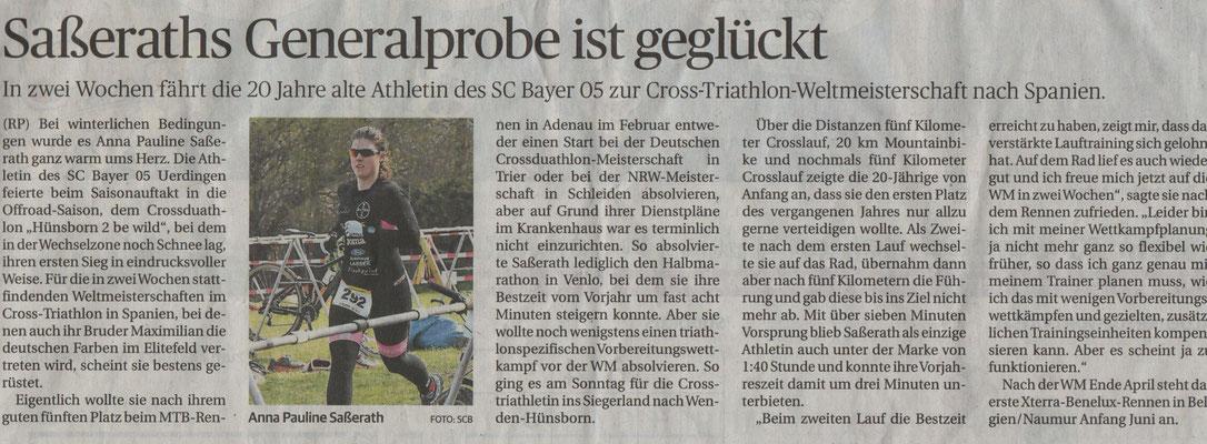 Rheinische Post am 16.04.2019