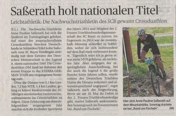 Rheinische Post 22.04.2015