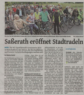 Westdeutsche Zeitung 26.05.2015