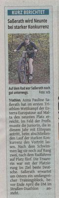 Westdeutsche Zeitung 06.04.2017
