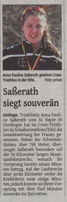 Westdeutsche Zeitung 05.08.2015