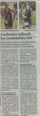 Westdeutsche Zeitung 09.11.2016
