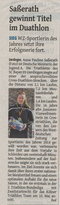Westdeutsche Zeitung 22.04.2015