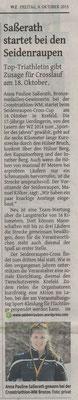 Westdeutsche Zeitung 09.10.2015