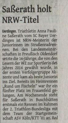 Westdeutsche Zeitung 05.05.2015