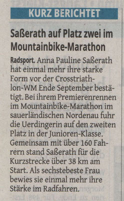 Westdeutsche Zeitung 11.08.2015