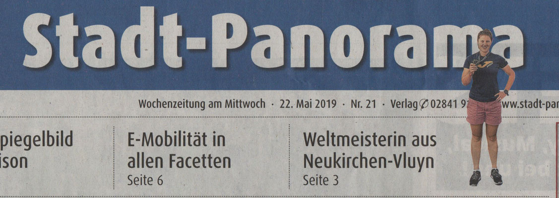 Stadt-Panorama am 22.05.2019 /Titelseite