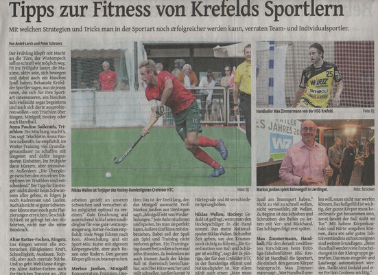 Westdeutsche Zeitung am 13.04.2019