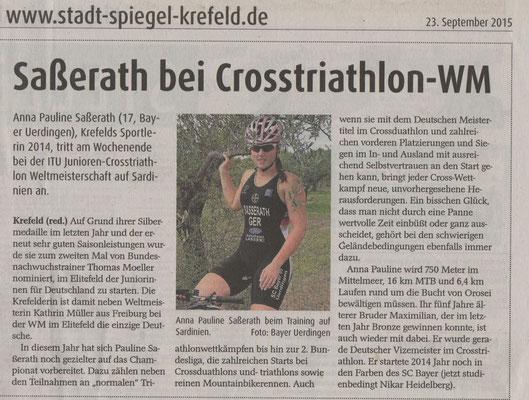 Stadtspiegel 23.09.2015
