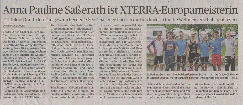 Rheinische Post am 23.08.2016