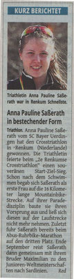 Westdeutsche Zeitung 02.09.2015