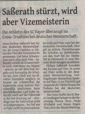 Westdeutsche Zeitung 23.08.2017